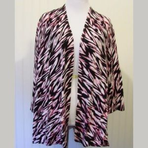 Chico's Open Front Cardigan Sz 3 XL